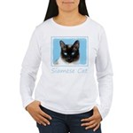 Siamese Cat Women's Long Sleeve T-Shirt