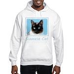 Siamese Cat Hooded Sweatshirt