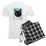 Siamese Cat Men's Light Pajamas