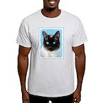 Siamese Cat Light T-Shirt