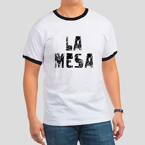 La Mesa Faded (Black) Ringer T