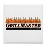 Grill Master - Licensed to Gr Tile Coaster