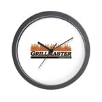 Grill Master - Licensed to Gr Wall Clock