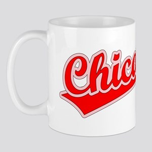 Retro Chicago (Red) Mug