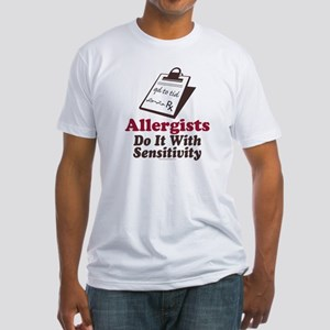 Allergist Immunologist Fitted T-Shirt