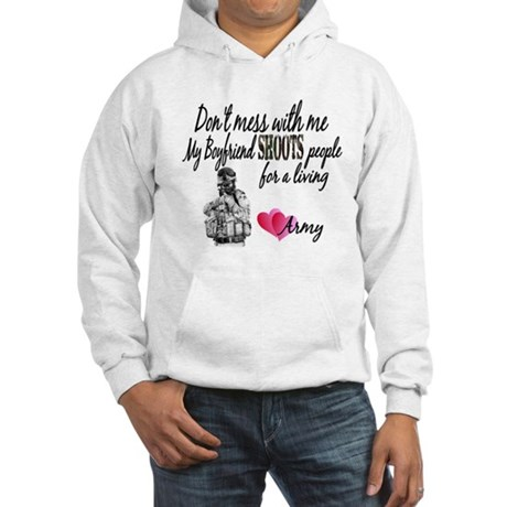 Dont mess with me Hooded Sweatshirt