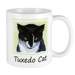 Tuxedo Cat 11 oz Ceramic Mug