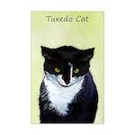 Tuxedo Cat Mini Poster Print