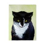 Tuxedo Cat Twin Duvet Cover