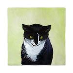 Tuxedo Cat Queen Duvet