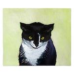 Tuxedo Cat King Duvet