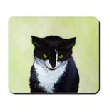 Tuxedo Cat Mousepad