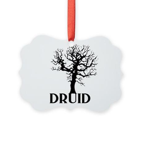 Druid Tree Picture Ornament