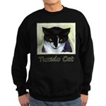 Tuxedo Cat Sweatshirt (dark)