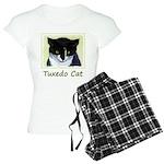 Tuxedo Cat Women's Light Pajamas