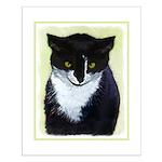 Tuxedo Cat Small Poster