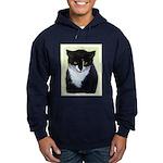 Tuxedo Cat Hoodie (dark)