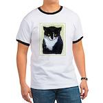 Tuxedo Cat Ringer T
