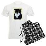 Tuxedo Cat Men's Light Pajamas