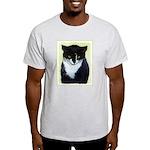 Tuxedo Cat Light T-Shirt