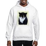 Tuxedo Cat Hooded Sweatshirt