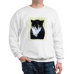 Tuxedo Cat Sweatshirt