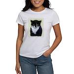 Tuxedo Cat Women's Classic T-Shirt