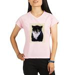 Tuxedo Cat Performance Dry T-Shirt