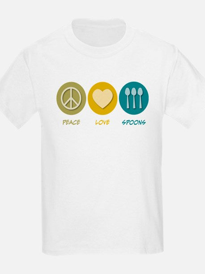 Peace Love Spoons T-Shirt
