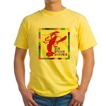 Crawfish: New Orleans, La Yellow T-Shirt