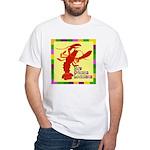 Crawfish: New Orleans, La White T-Shirt