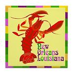Crawfish: New Orleans, La Tile Coaster