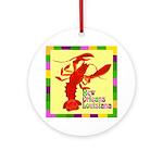 Crawfish: New Orleans, La Ornament (Round)