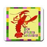Crawfish: New Orleans, La Mousepad