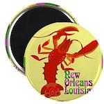Crawfish: New Orleans, La Magnet