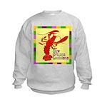 Crawfish: New Orleans, La Kids Sweatshirt