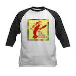 Crawfish: New Orleans, La Kids Baseball Jersey