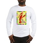 Crawfish: New Orleans, La Long Sleeve T-Shirt