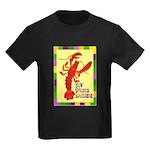 Crawfish: New Orleans, La Kids Dark T-Shirt