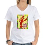 Crawfish Fest Women's V-Neck T-Shirt