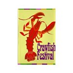 Crawfish Fest Rectangle Magnet