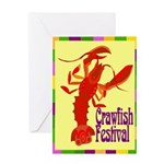 Crawfish Fest Greeting Card
