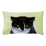 Tuxedo Cat Pillow Case