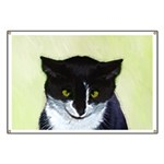 Tuxedo Cat Banner