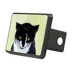 Tuxedo Cat Rectangular Hitch Cover