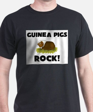 Guinea Pigs Rock! T-Shirt