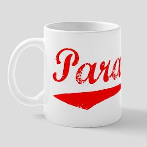 Vintage Paradise (Red) Mug