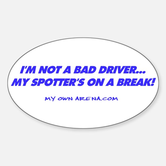 TracksideSpotter_ Oval Decal