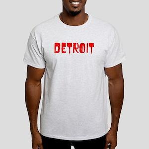 Detroit Faded (Red) Light T-Shirt