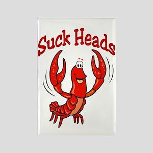 Suck Heads Rectangle Magnet